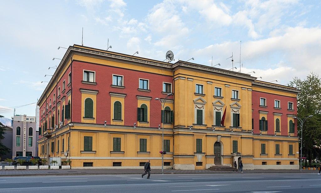 File ministerio de asuntos interiores tirana albania for Ministerio de relaciones interiores espana