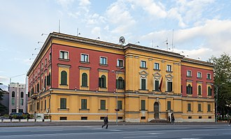 Ministry of Internal Affairs (Albania) - Ministry building