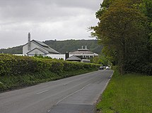 Minor road passing the Welsh Plant Breeding Station - geograph.org.uk - 1291259.jpg