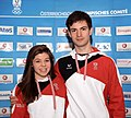 Miriam Ziegler Severin Kiefer - Team Austria Winter Olympics 2014.jpg