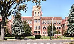 Historic Mishawaka High School.