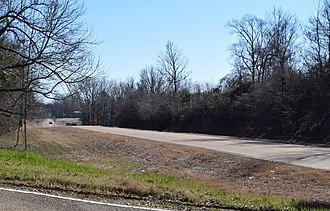 Mississippi Highway 8 - Highway 8 in Grenada County