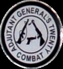 Missouri Adjutant Generals 20 Combat Badge