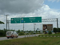 Mittraphap Highway in Nong Khai.JPG