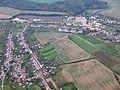 Modrá a Velehrad, letecký pohled.jpg
