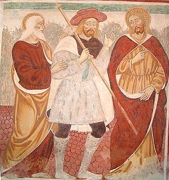 Road to Emmaus appearance - Image: Momo Chiesa SS Trinità Discepoli Emmaus