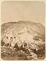 Monastery of Saint George and stopping at brittle Pass (1886).jpg