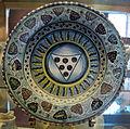 Montelupo, piatto con stemma medici, 1475-1450 ca..JPG