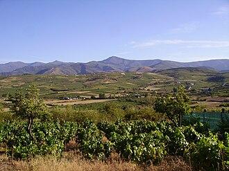 Montes Aquilanos - Part of the Montes Aquilanos. Image taken from San Lorenzo del Bierzo.