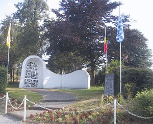 Battle of Othée - Image: Monument Bataille othée