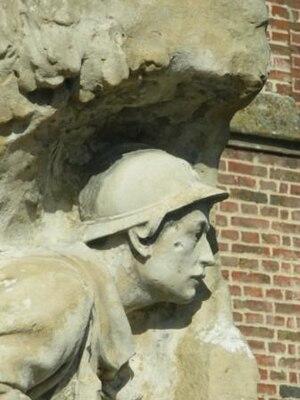 War memorials (Western Somme) - The war memorial at Arry