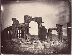 Monumental Arch, Louis Vignes, 1864. Albumen print. The Getty Research Institute, 2015.R.15.jpg