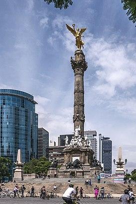 Monumento A La Independencia Wikipedia La Enciclopedia Libre