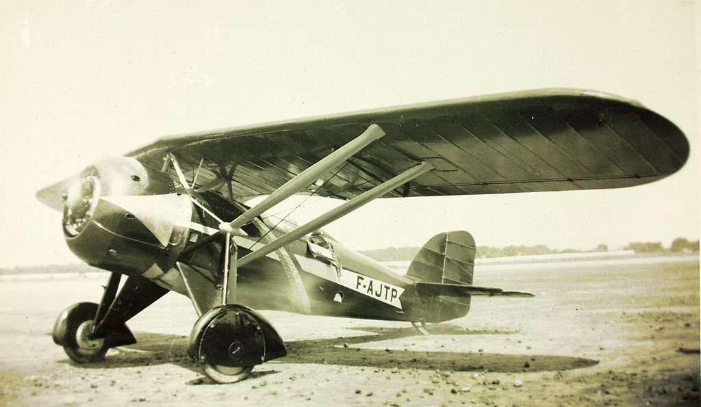 Morane 225 civilian markings