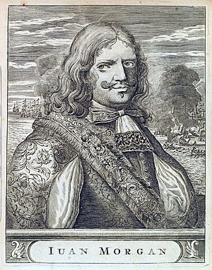 Live and Let Die (novel) - Sir Henry Morgan, whose treasure formed the key to the plot.