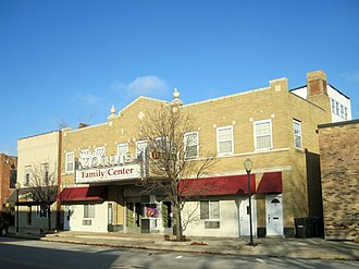 National Register of Historic Places listings in Grundy County, Illinois - Image: Morris Downtown Commercial Historic District