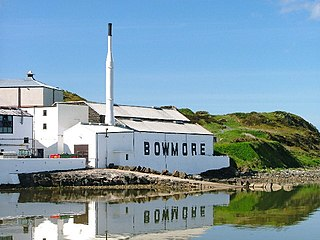Bowmore distillery Scottish whisky distillery