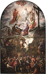 Moses and the Brazen Serpent and the Transfiguration of Jesus