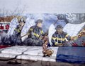 Mother and child at the Chicago firefighter mural, Chicago, Illinois LCCN2011630439.tif