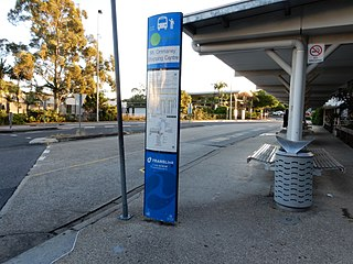 Mount Ommaney Shopping Centre bus station Bus station in Brisbane, Queensland, Australia