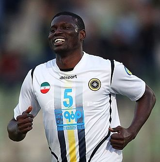Moussa Coulibaly (footballer, born 1993) - Image: Moussa Coulibaly Saipa vs. Sepahan