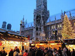 Muc MarienplatzChristkindlesmarkt