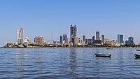Mumbai 03-2016 10 skyline of Lotus Colony.jpg