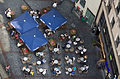 Munich - Top view of a street bar and tables - 8254.jpg