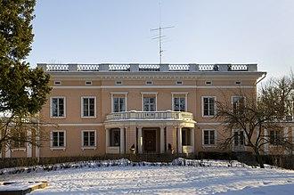 Munkkiniemi - Munkkiniemi manor