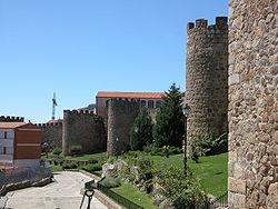 Murallas medievales de Plasencia.