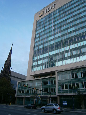 IDT Corporation - Headquarters at 520 Broad Street in Newark
