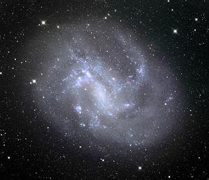NGC 4395 - NGC 4395 in 32 inch telescope