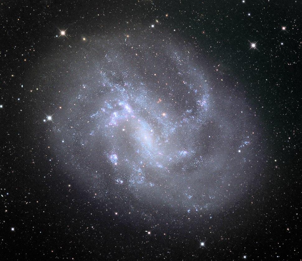 NGC 4395 spiral galaxy in 32 inch Schulman telescope