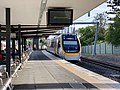 NGR722 approaching Oxley railway station, Brisbane.jpg