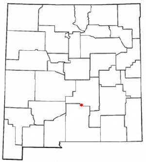 Hollywood, New Mexico - Location of Ruidoso, New Mexico