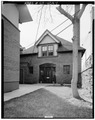 NORTH FRONT - George Schleier Carriage House, 1655 Grant Street, Denver, Denver County, CO HABS COLO,16-DENV,14A-1.tif