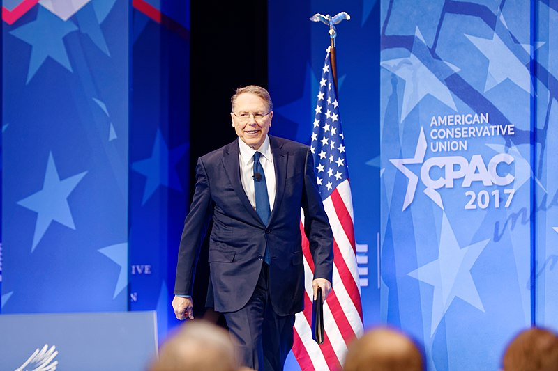File:NRA Wayne LaPierre at CPAC 2017 on February 24th 2017 by Michael Vadon 01.jpg