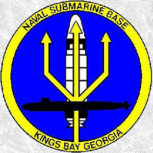 Naval Submarine Base Kings Bay - Image: N Su Base K Blogo