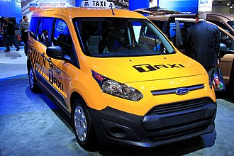 Ford Transit Connect - Ford Transit New York City's Taxi of Tomorrow.