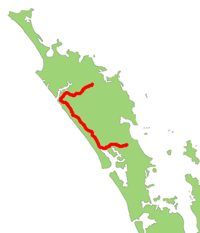 New Zealand Highway Map.New Zealand State Highway 12 Wikipedia