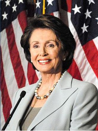 Women in the United States House of Representatives - Nancy Pelosi, 52nd Speaker of the United States House of Representatives (2007–2011, 2019–), the only woman to hold the position.