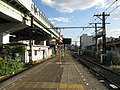 Nankai Shiomibashi Station platform - panoramio (4).jpg