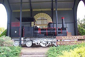 Locomotive à Naracoorte