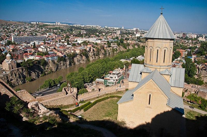 narikala fortress Tbilisi
