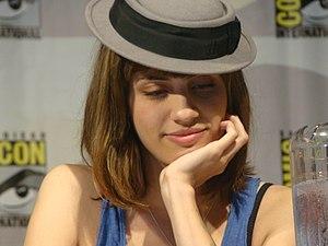 Natalie Morales (actress) - Morales at the 2009 San Diego Comic Con