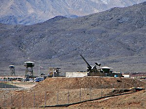 Stuxnet - Anti-aircraft guns guarding Natanz Nuclear Facility