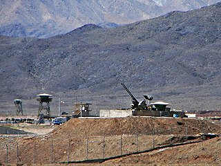 anti-aircraft guns guarding Natanz Nuclear Facility, Iran [Wikipedia] - Curious Minds Podcast