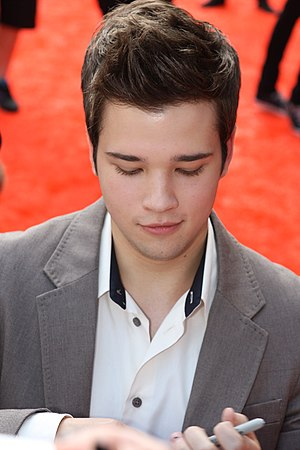 English: Nathan Kress at the Nickelodeon Choic...