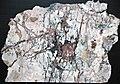 Native copper stockwork in skarn rock (Madison Gold Skarn Deposit, Late Cretaceous, 80 Ma; west of Silver Star, Montana, USA) 1.jpg