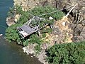 Native fishing platform, The Dalles, OR. (10488588535).jpg